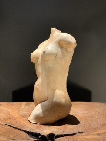 femme terre cuite sculpture pièce unique