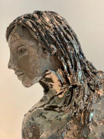 sculpture femme céramique oeuvre d'art