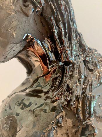sculpture femme céramique pièce unique claire michelini