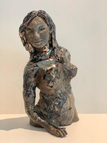 sculpture pièce unique oeuvre d'art claire michelini