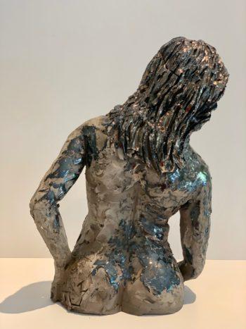 sculpture féminine céramique pièce unique