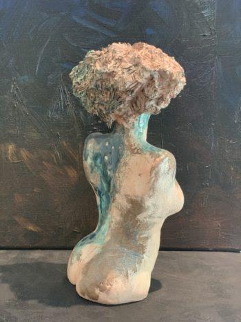 dos de femme sculpture pièce unique