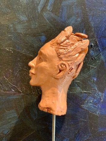 portrait femme homme sculpture lyon