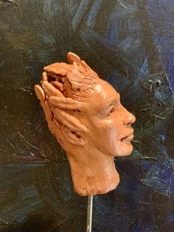 sculpture pièce unique homme femme lyon