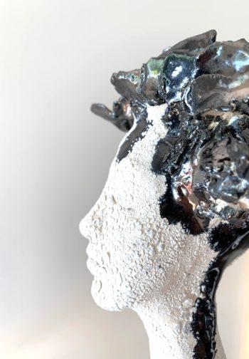 effets matière sculpture femme lyon