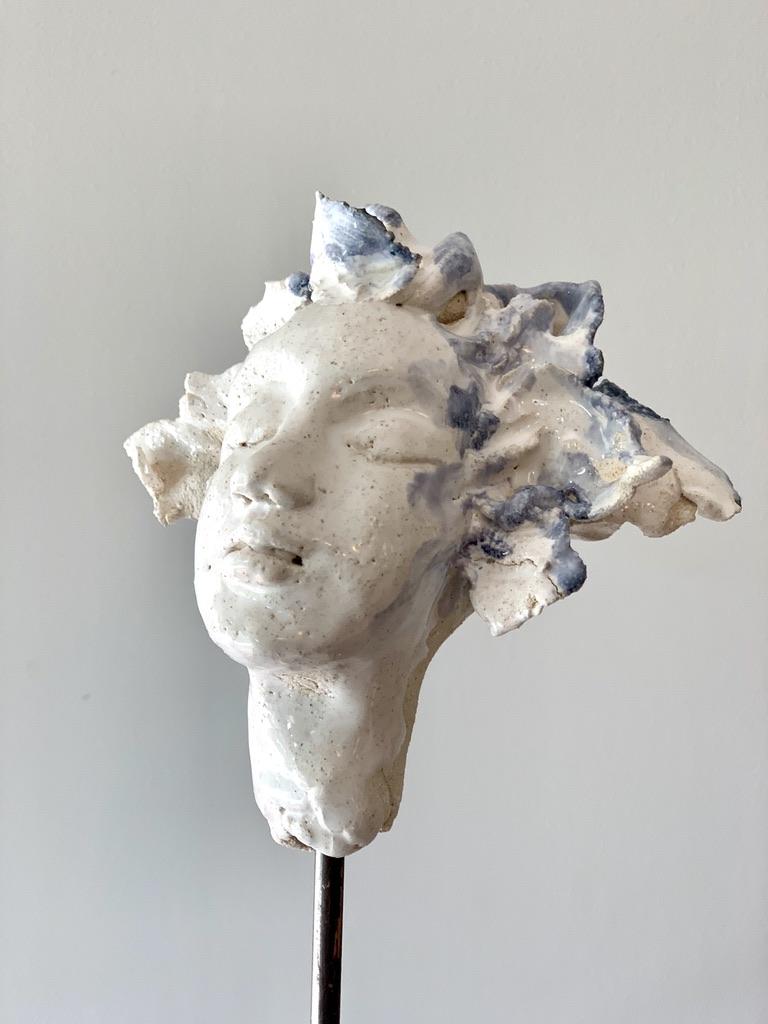 belle endormie sculpture céramique lyon