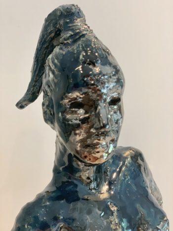 portrait céramique femme clairemichelini