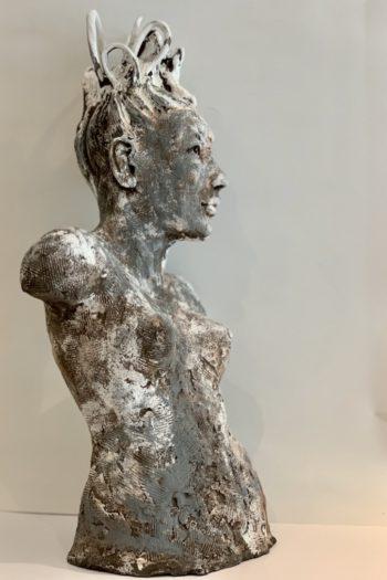 silhouette femme sculpture pièce unique